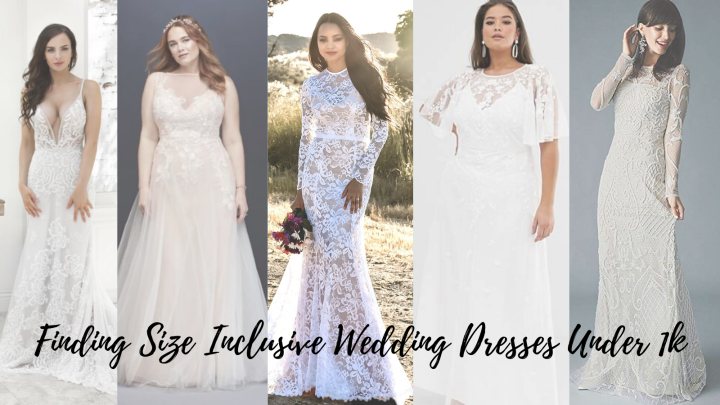 Bridin' on a Budget: Wedding Dresses Under 1k