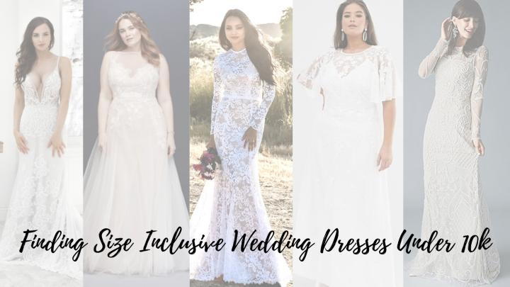 Bridin' on a Budget: Wedding Dresses Under1k
